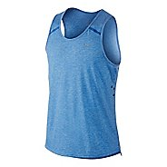 Mens Nike Dri-FIT Touch Tailwind Singlet Technical Tops