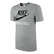 Mens Nike RU NTF Brand Tee Short Sleeve Technical Tops