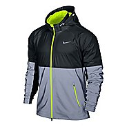 Mens Nike Shield Flash Running Jackets