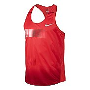 Mens Nike Distance Singlet Technical Tops