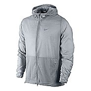 Mens Nike Printed Hurricane Running Jackets