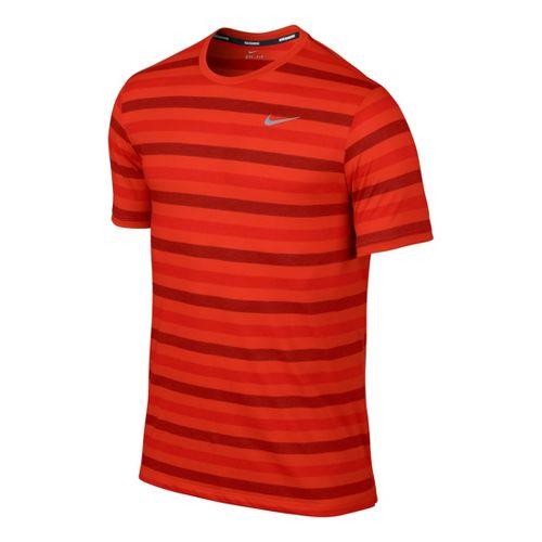 Men's Nike�DF Touch Tailwind Short Sleeve Striped
