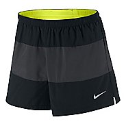"Mens Nike 4"" Color Block Lined Shorts"