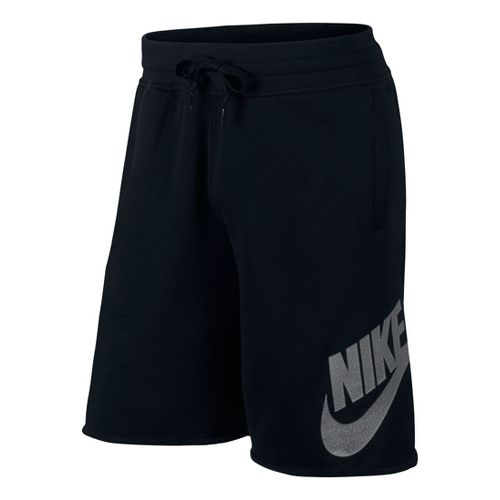 Mens Nike AW77 Alumni Unlined Shorts - Black L