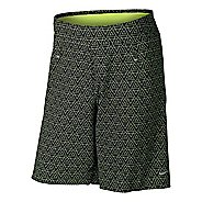 "Mens Nike 9"" Instinct Print Lined Shorts"