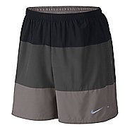 "Mens Nike 7"" Phenom Color Blocked 2-in-1 Shorts"