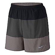 "Mens Nike 7"" Phenom Color Blocked 2-in-1 Shorts"