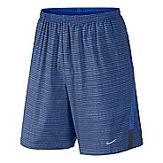 "Mens Nike Printed 9"" Distance Lined Shorts"