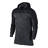 Mens Nike Dri-Fit Knit Long Sleeve 1/2 Zip Technical Tops