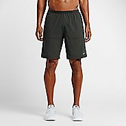 "Mens Nike 9"" Distance Lined Shorts"