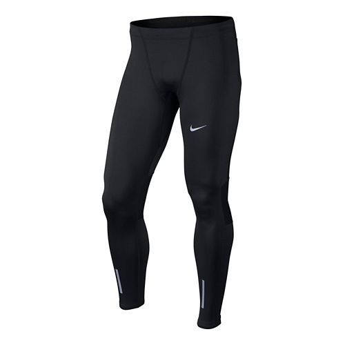 Mens Nike Tech Fitted Tights - Black M