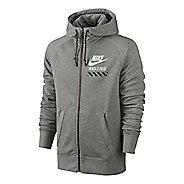 Mens Nike AW77 FU NTF Fly Full-Zip Hoodie Running Jackets