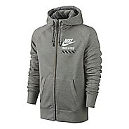 Mens Nike AW77 FU NTF Fly Full-Zip Hoodie Running Jackets