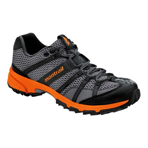 Mens Montrail Mountain Masochist II Trail Running Shoe - Charcoal/Orange 10.5