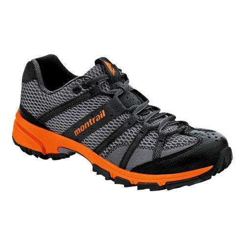 Mens Montrail Mountain Masochist II Trail Running Shoe - Charcoal/Orange 11.5