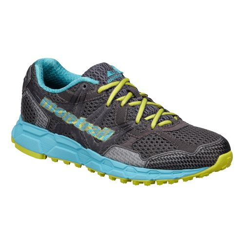 Womens Montrail Bajada Trail Running Shoe - Charcoal/Blue 10.5