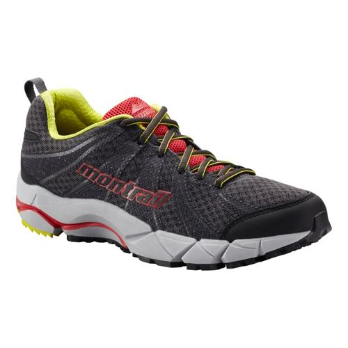 Womens Montrail FluidFeel II Trail Running Shoe - Charcoal/Berry 6.5