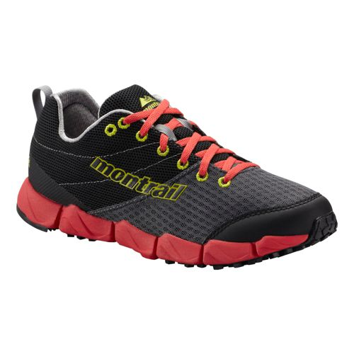 Womens Montrail FluidFlex II Trail Running Shoe - Charcoal/Berry 8.5