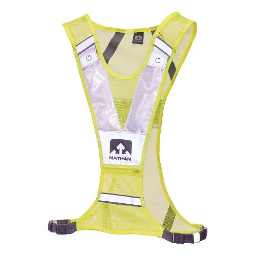 Nathan Photon L.E.D. Vest Safety - Neon Yellow/Grey