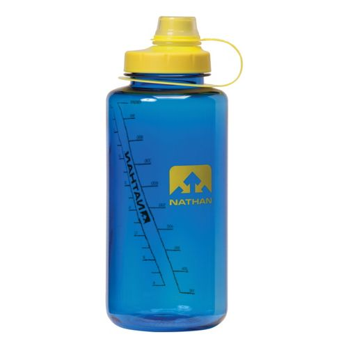 Nathan Big Shot Narrow Mouth 1L Hydration - Blue