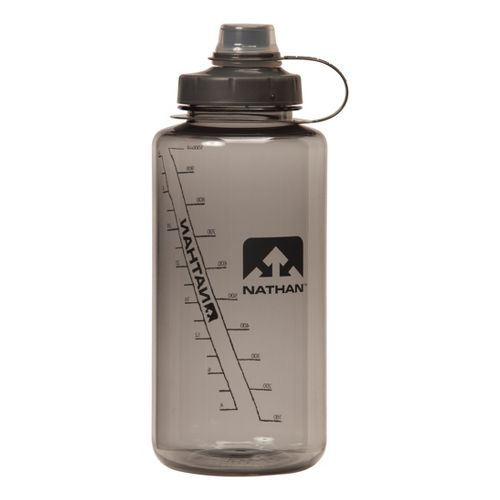 Nathan Big Shot Narrow Mouth 1L Hydration - Grey