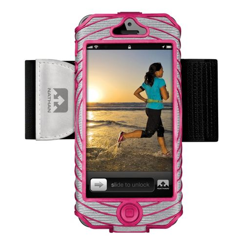 Nathan Sonic Boom Armband iPhone 5 Holders - Berry