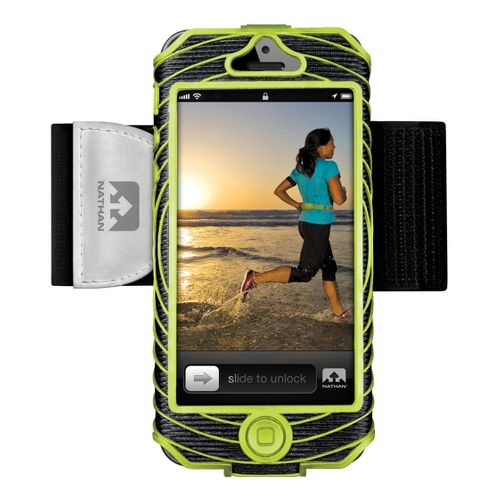 Nathan Sonic Boom Armband iPhone 5 Holders - Lime