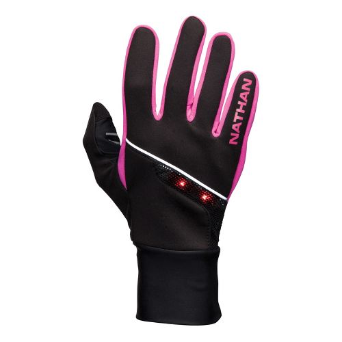Womens Nathan SpeedShift Gloves Handwear - Black/Fuschia M