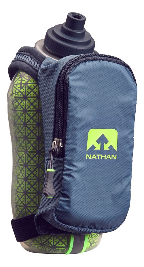 Nathan SpeedDraw Plus Insulated 18 ounce Hydration - Blue Stone