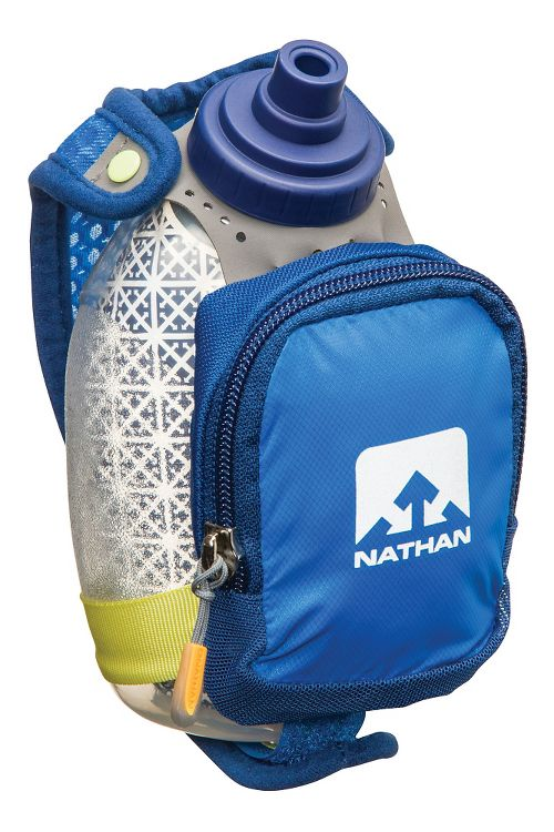 Nathan QuickShot Plus Insulated Bottle 8 ounce Hydration - Estate Blue