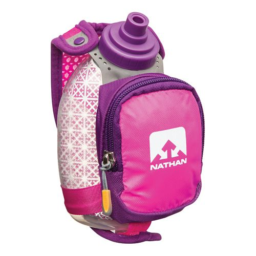 Nathan QuickShot Plus Insulated Bottle 8 ounce Hydration - Flora Fuschia