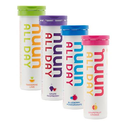Nuun All Day Variety 4 pk Nutrition