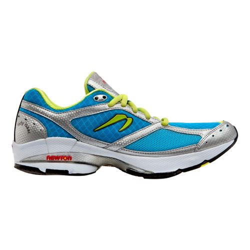 Womens Newton Running Lady Isaac Running Shoe - Turquoise/Lime 10.5