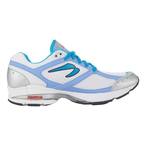 Womens Newton Running Lady Isaac Running Shoe - White/Peri 5.5