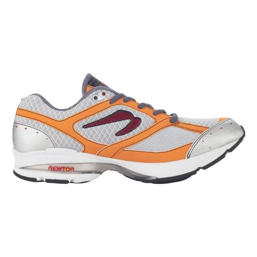 Mens Newton Running Sir Isaac S Running Shoe - Grey/Orange 10.5