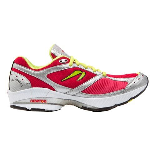 Womens Newton Running Lady Isaac S Running Shoe - Pink/Lime 10.5