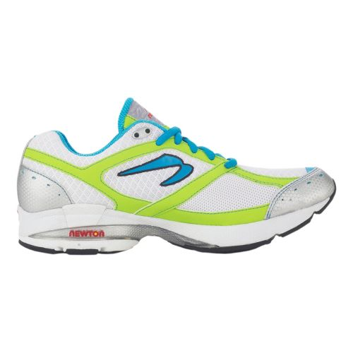 Womens Newton Running Lady Isaac S Running Shoe - White/Mint 10.5