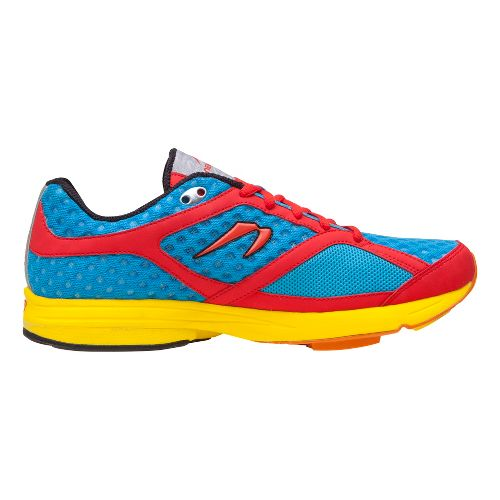 Mens Newton Running Gravity Running Shoe - Blue/Red 10.5