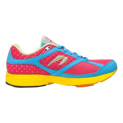 Womens Newton Running Gravity Running Shoe - Watermelon/Blue 10.5