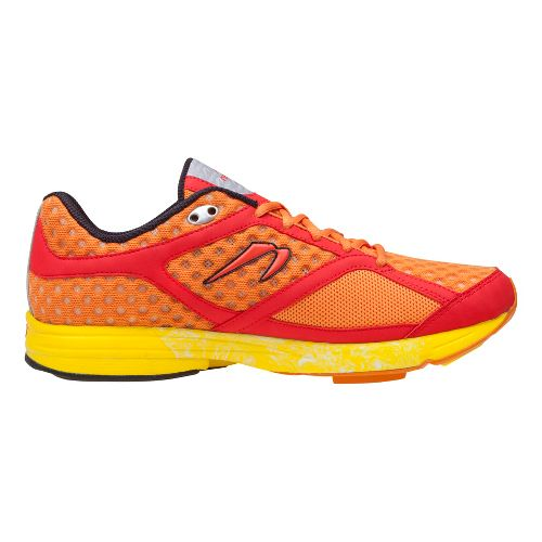 Mens Newton Running Motion Running Shoe - Orange/Red 8.5