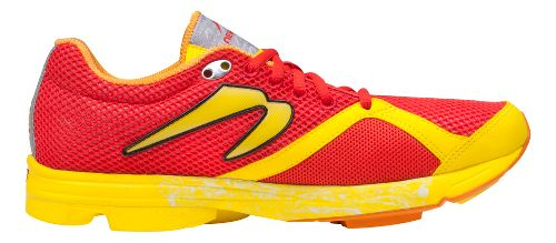 Mens Newton Running Distance S Running Shoe - Red/Yellow 8