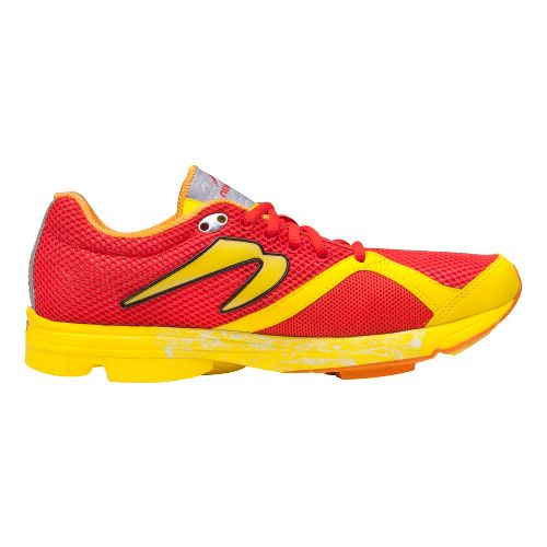Mens Newton Running Distance S Running Shoe - Red/Yellow 11.5