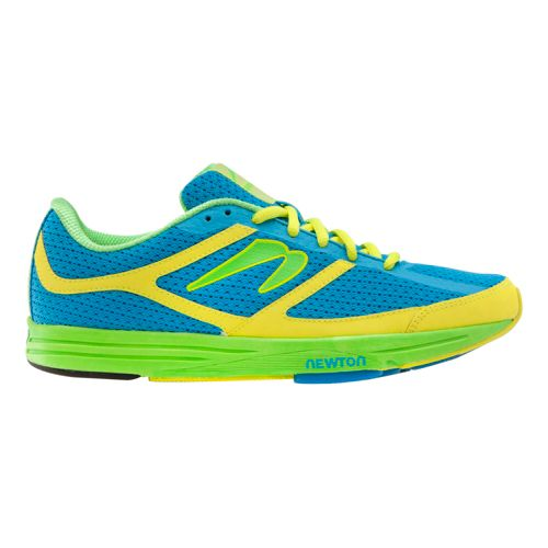 Womens Newton Running Energy NR Running Shoe - Blue/Citron 10.5