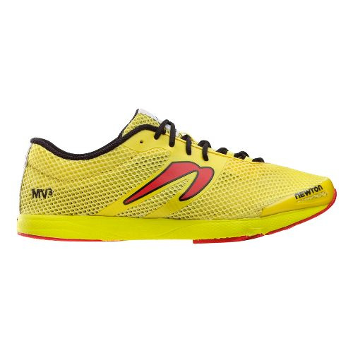 Mens Newton Running MV3 Running Shoe - Yellow/Red 9