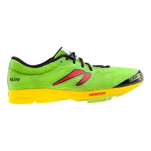 Mens Newton Running Elite Racer Running Shoe - Green/Yellow 13