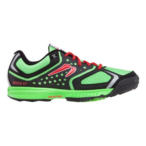 Mens Newton Running BOCO AT Trail Running Shoe - Green/Black 8.5
