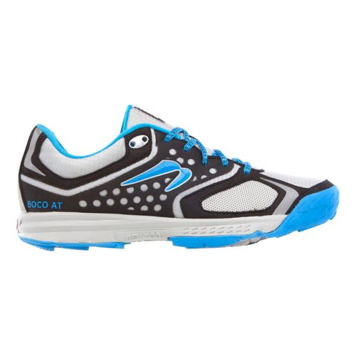 Mens Newton Running BOCO AT Trail Running Shoe - Silver/Blue 10.5