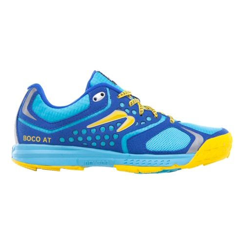 Womens Newton Running BOCO AT Trail Running Shoe - Aqua/Yellow 6.5