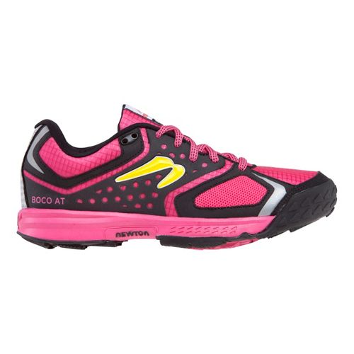 Womens Newton Running BOCO AT Trail Running Shoe - Pink/Black 8.5