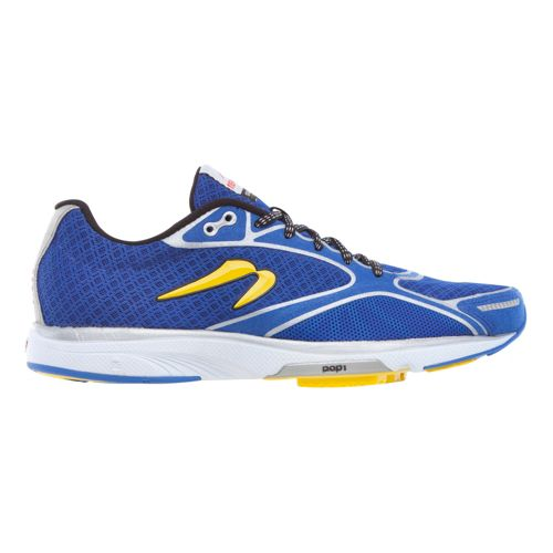 Mens Newton Running Gravity III Running Shoe - Blue/Black 11.5